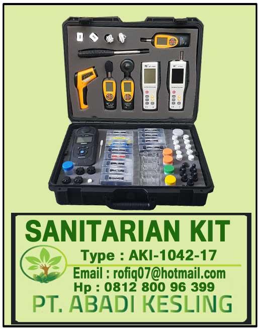 Sanitarian Kit Rekomendasi Kemenkes AKI-1042-17