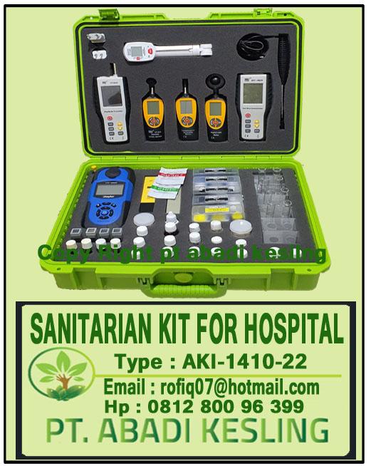 Ready Stock Sanitarian Kit For Hospital AKI-1042-22
